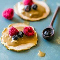 Apple Chips & Sunlower Seed Butter Snacks