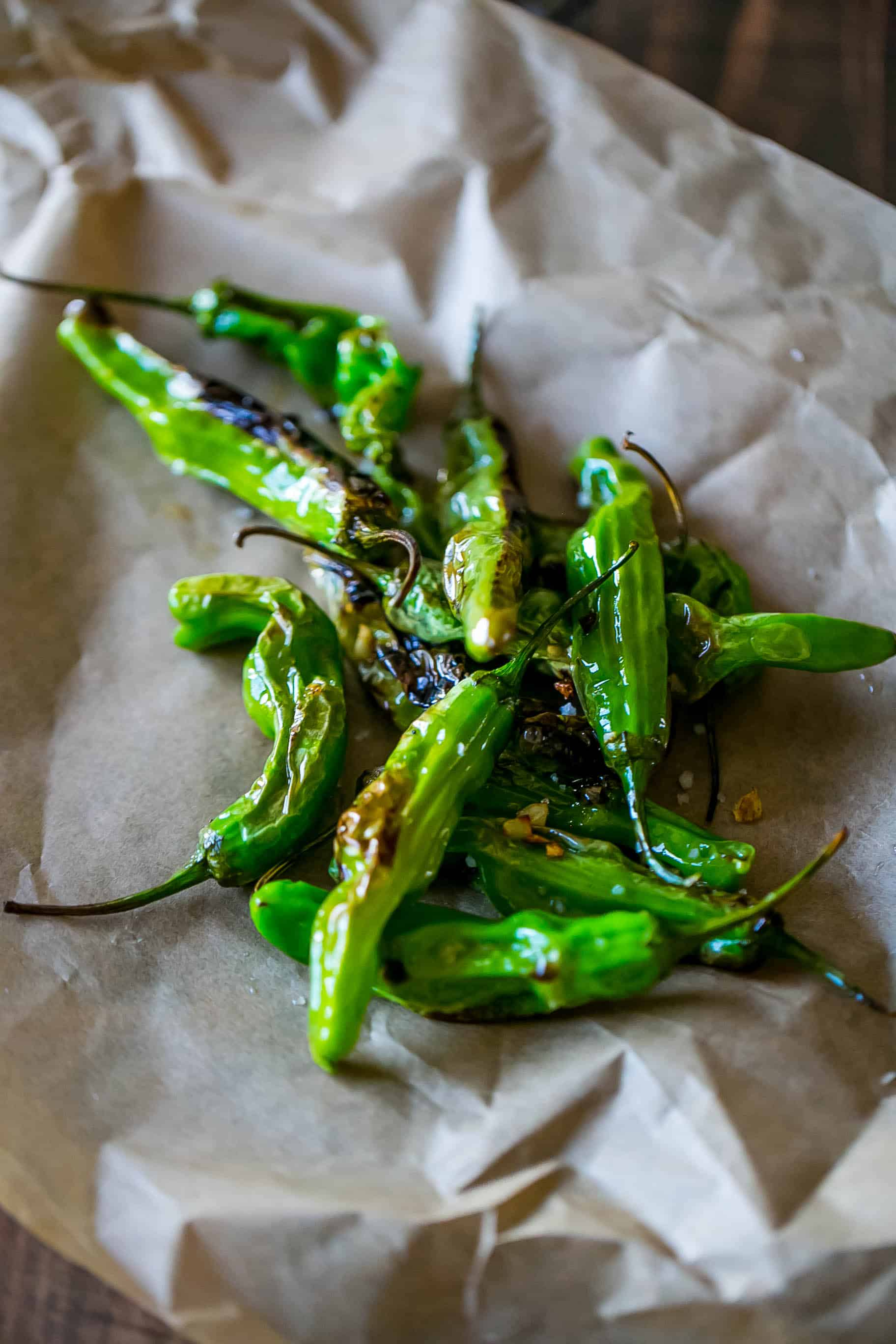 This is the best way to make blistered shishito peppers!
