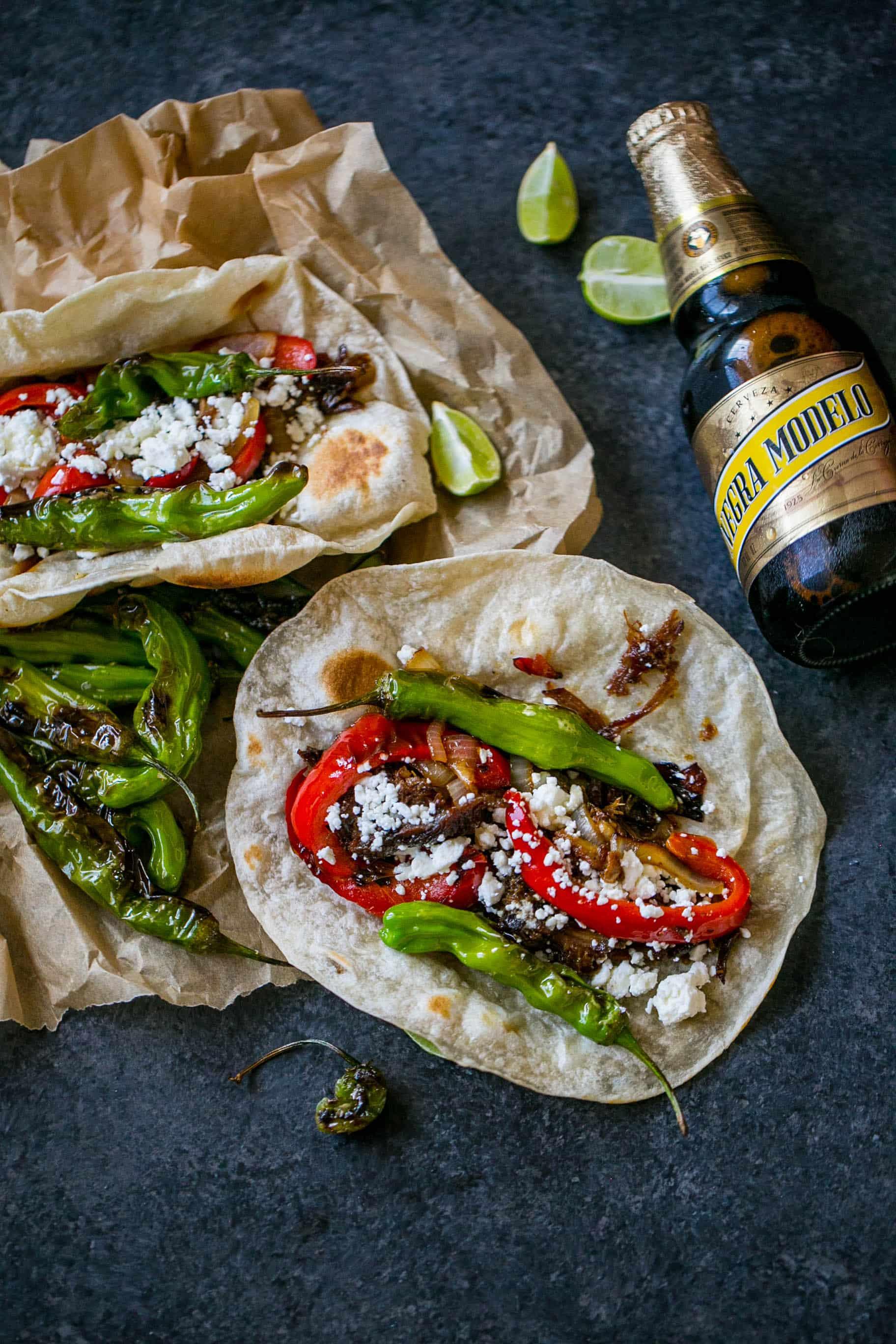 Tequila habanero braised short rib tacos - YUM!