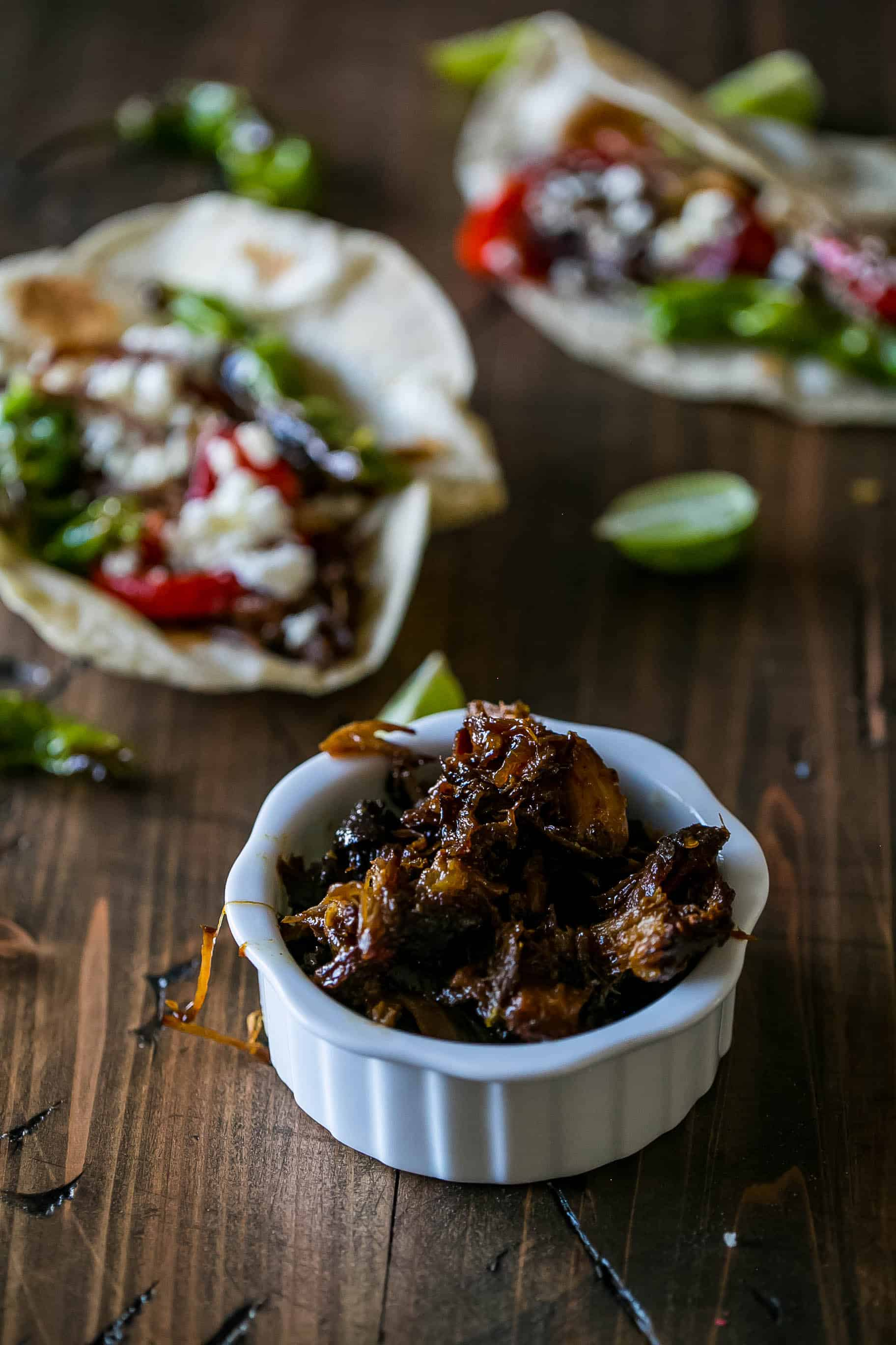 Tequila Habanero Braised Country Ribs - Sweet C's Designs