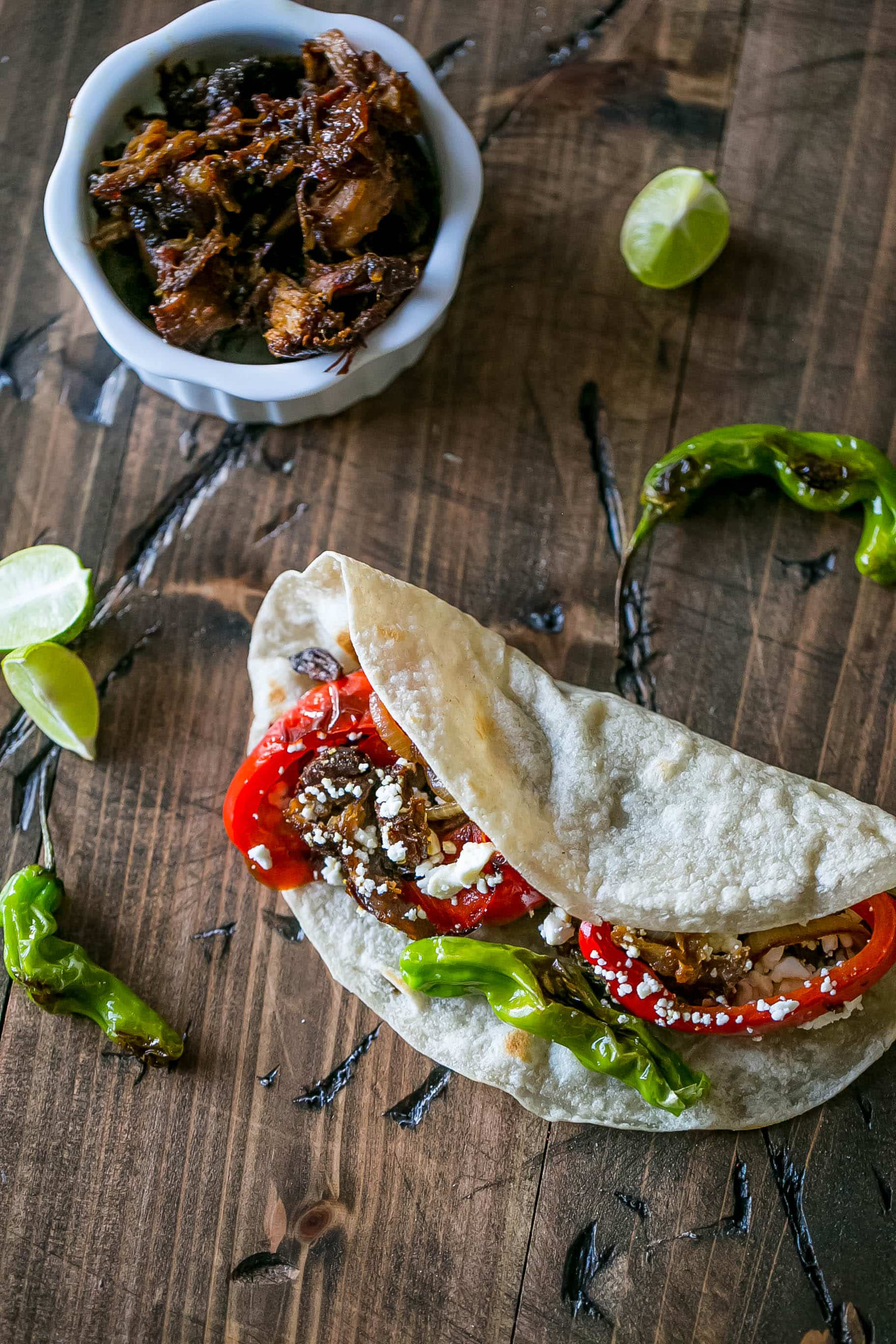 these country rib tequila and habanero tacos are to die for!