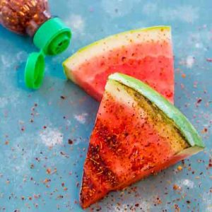 Great twist, Spicy Grilled Watermelon