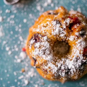 Tasty, Lemon Berry Mini Bundt Cakes