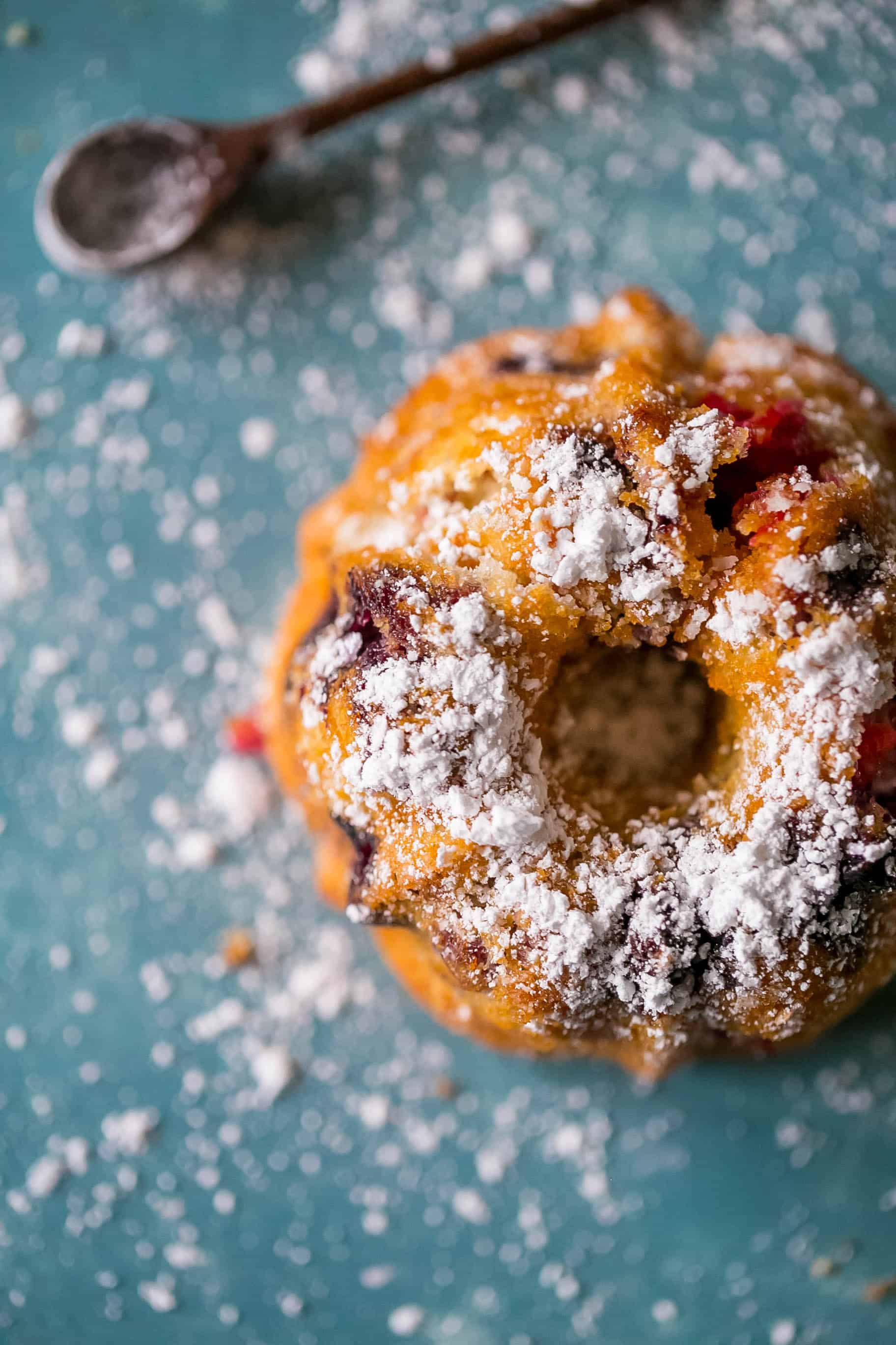 Tasty, Lemon Berry Mini Bundt Cakes