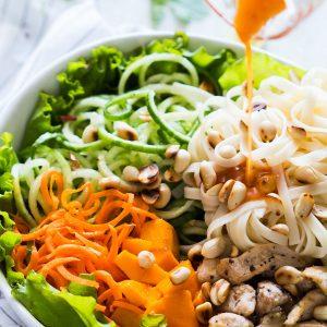 Tropical Mango Noodle Salad