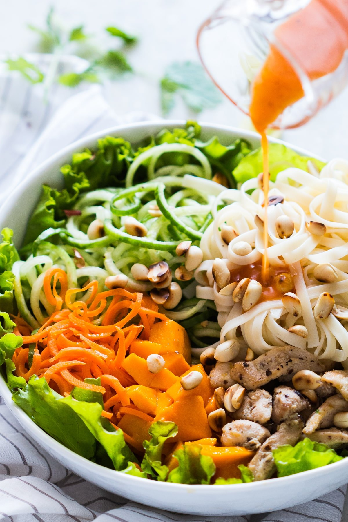 Tropical Mango Noodle Salad