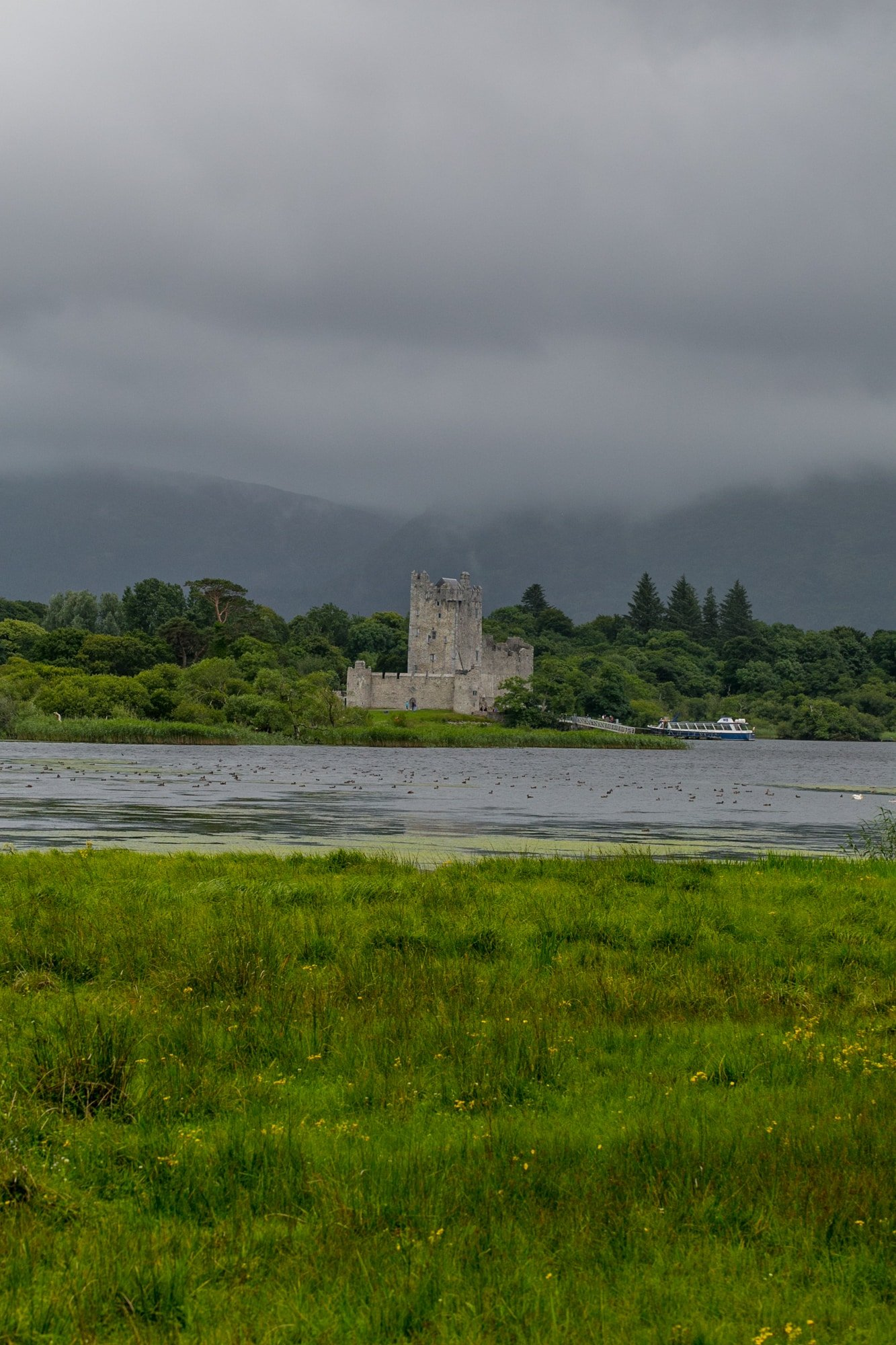 Ross Castle and Lady of the Lake Boat tour, Killarney National Park