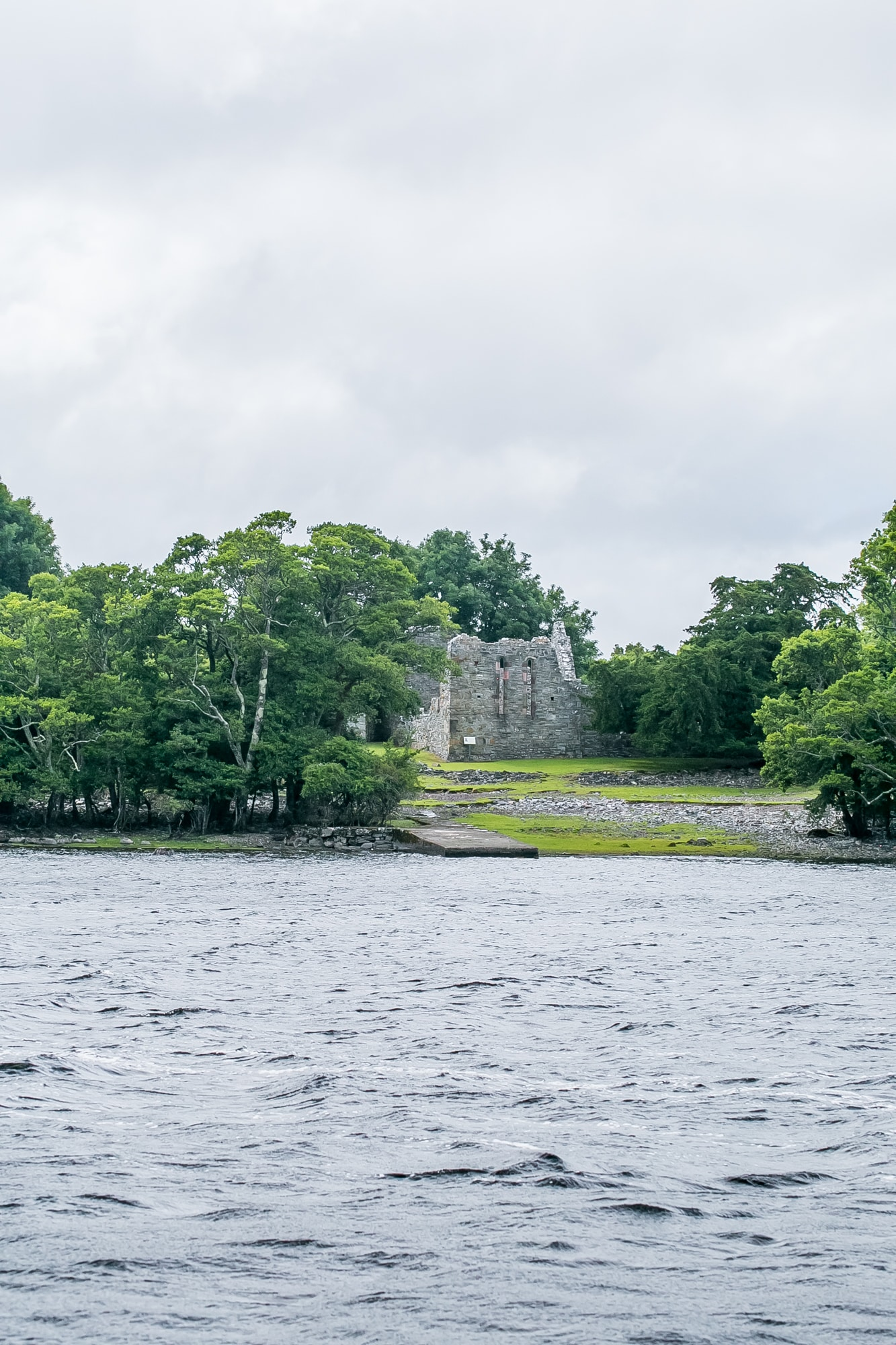 Innisfallen ruins, Killarney National Park Ireland