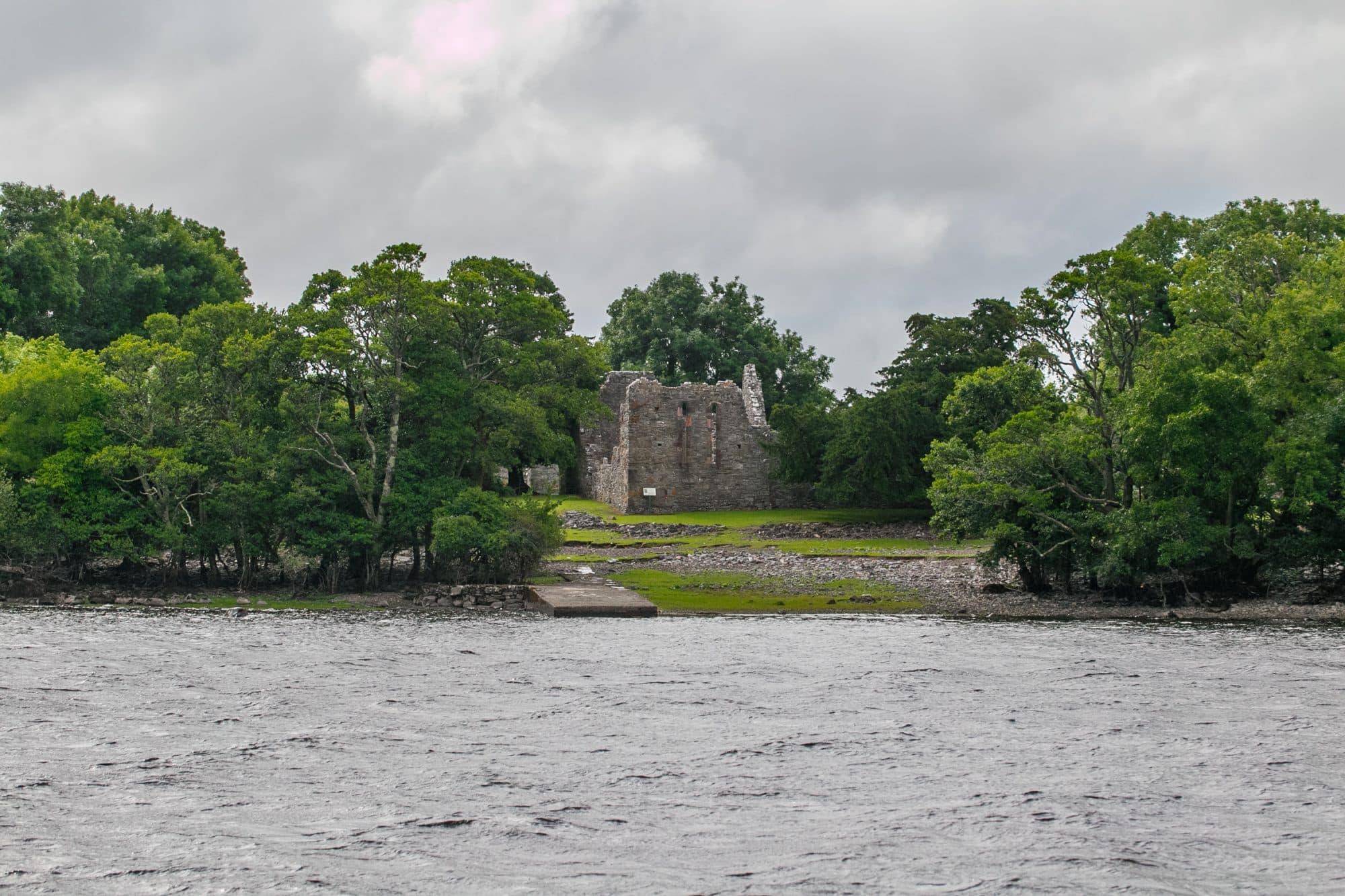 Innisfallen monastery ruins, Ireland