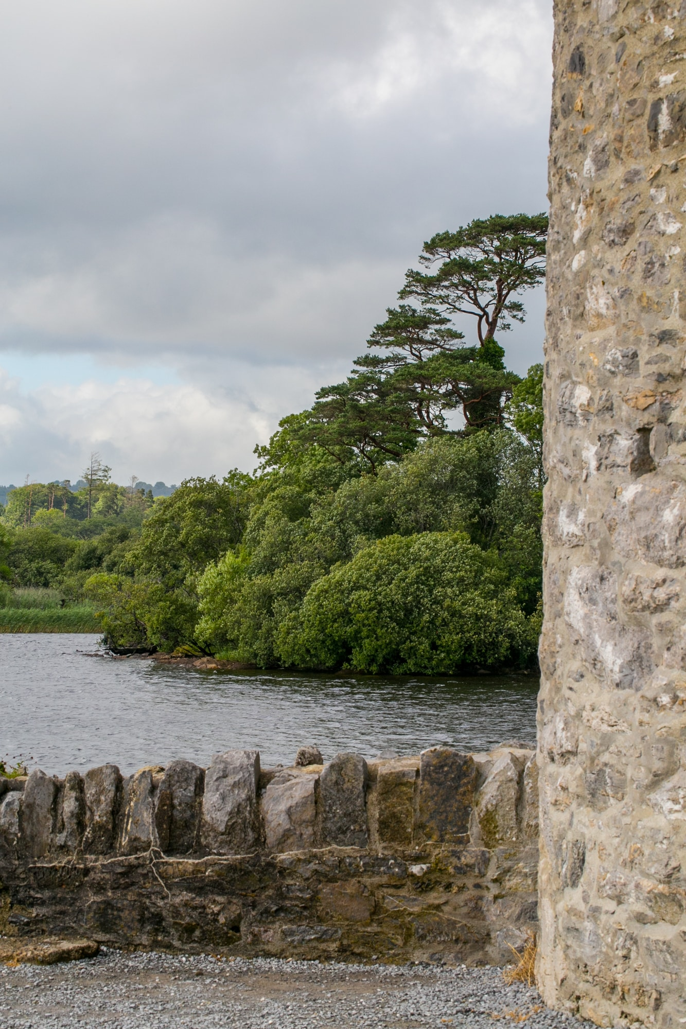 View from Ross Castle, Killarney