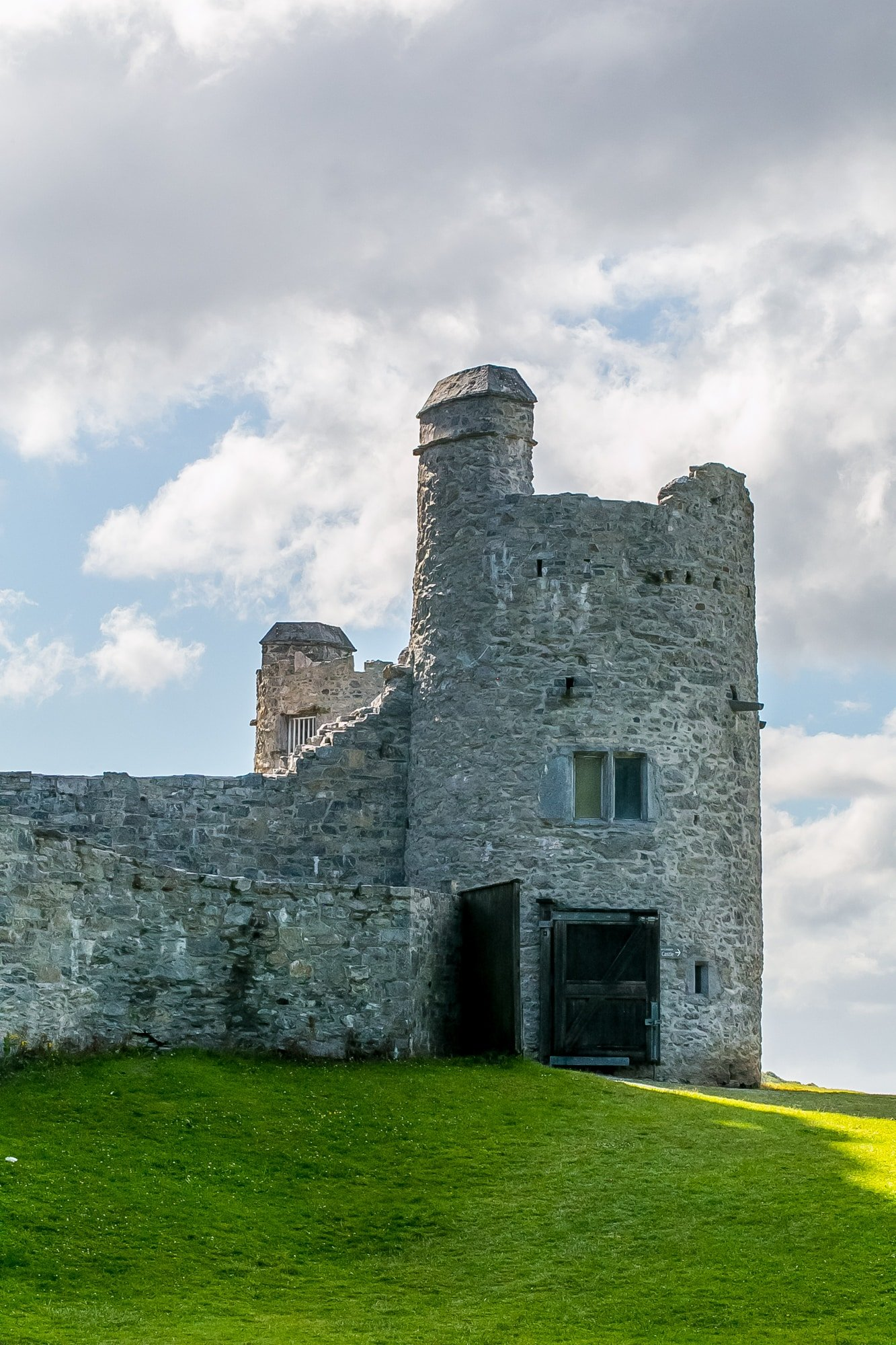 Ross castle turret, Killarney