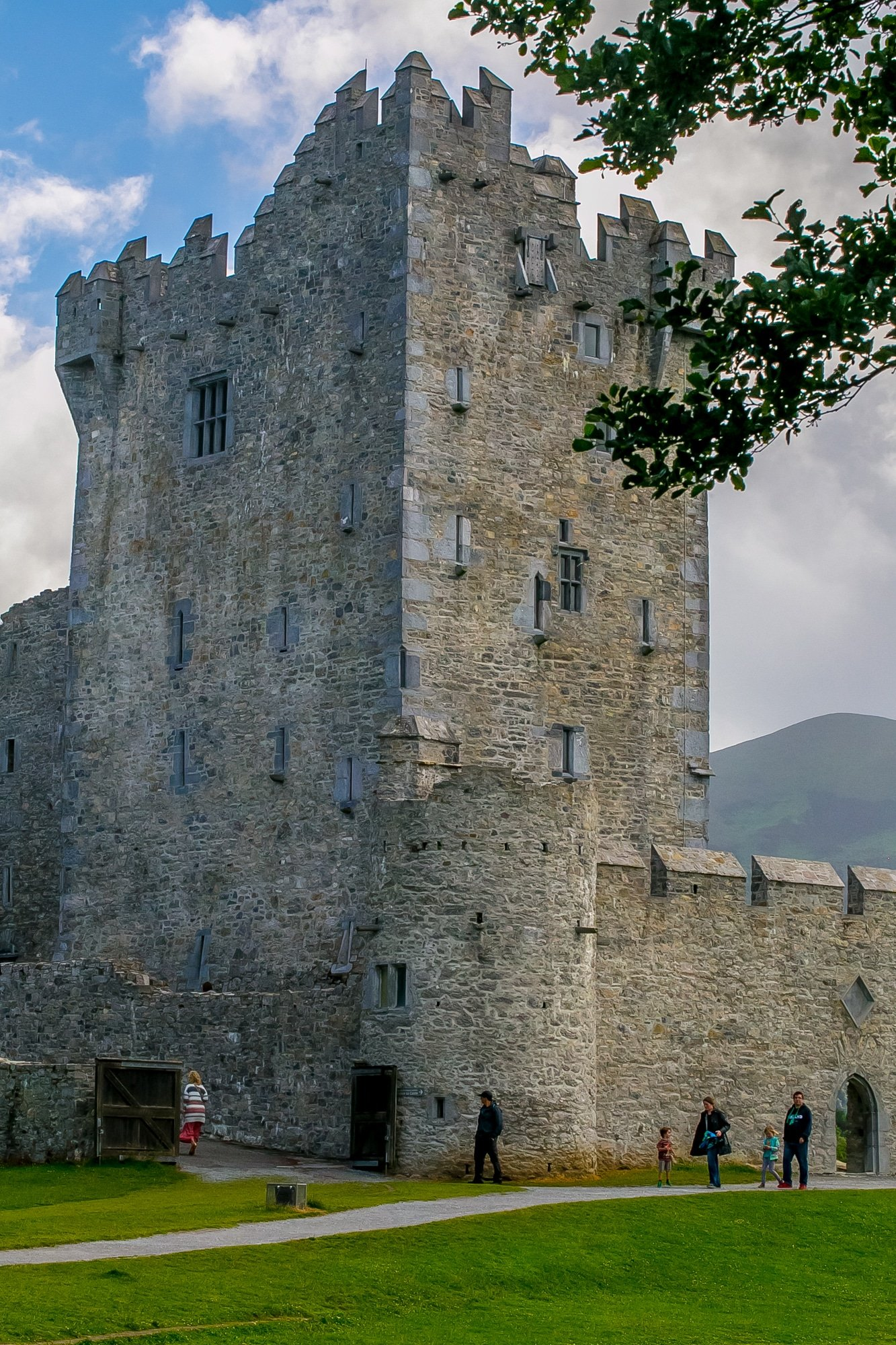 Ross Castle, Killarney National Park Ireland