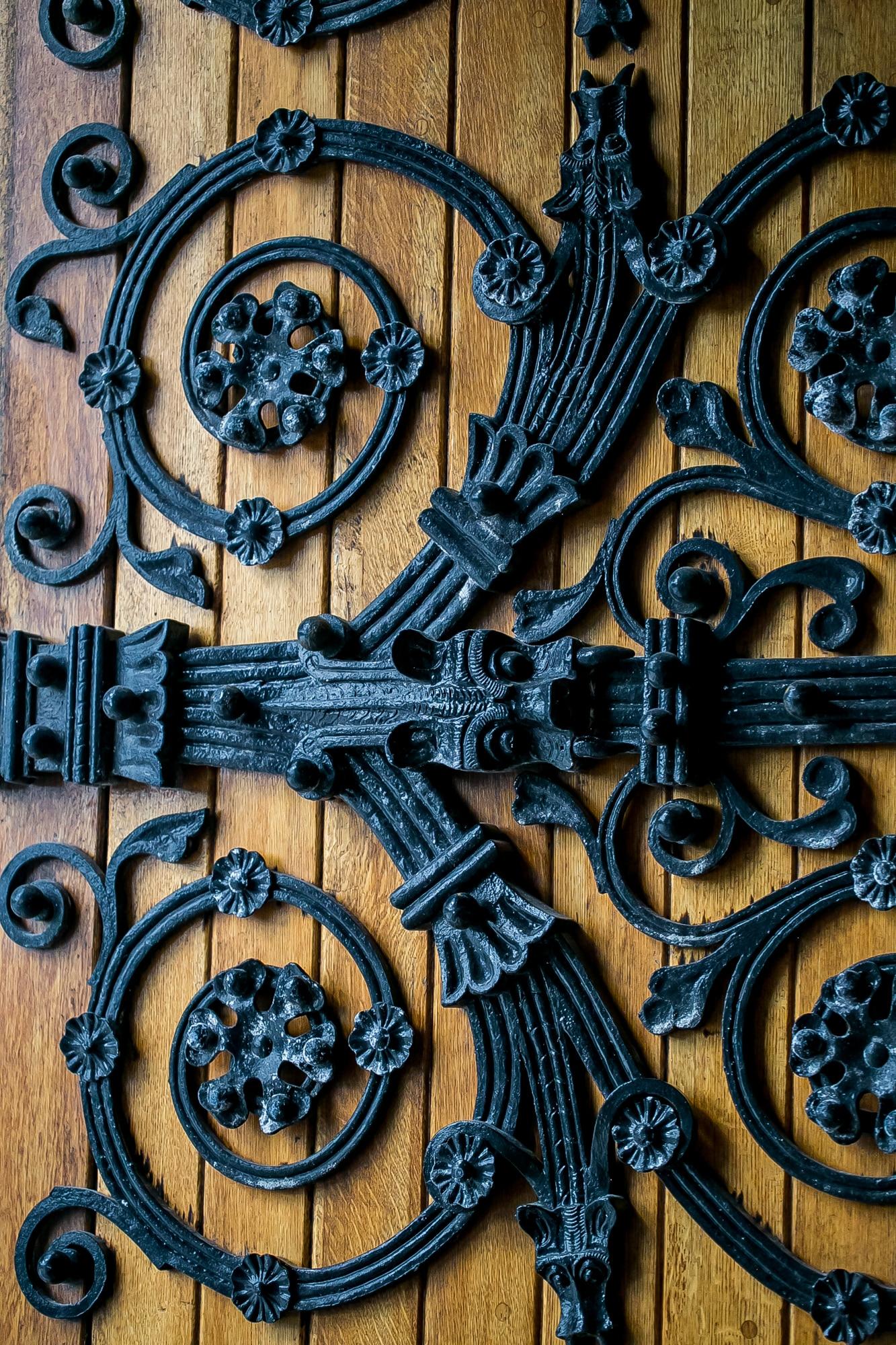 Cobh Cathedral door, Ireland