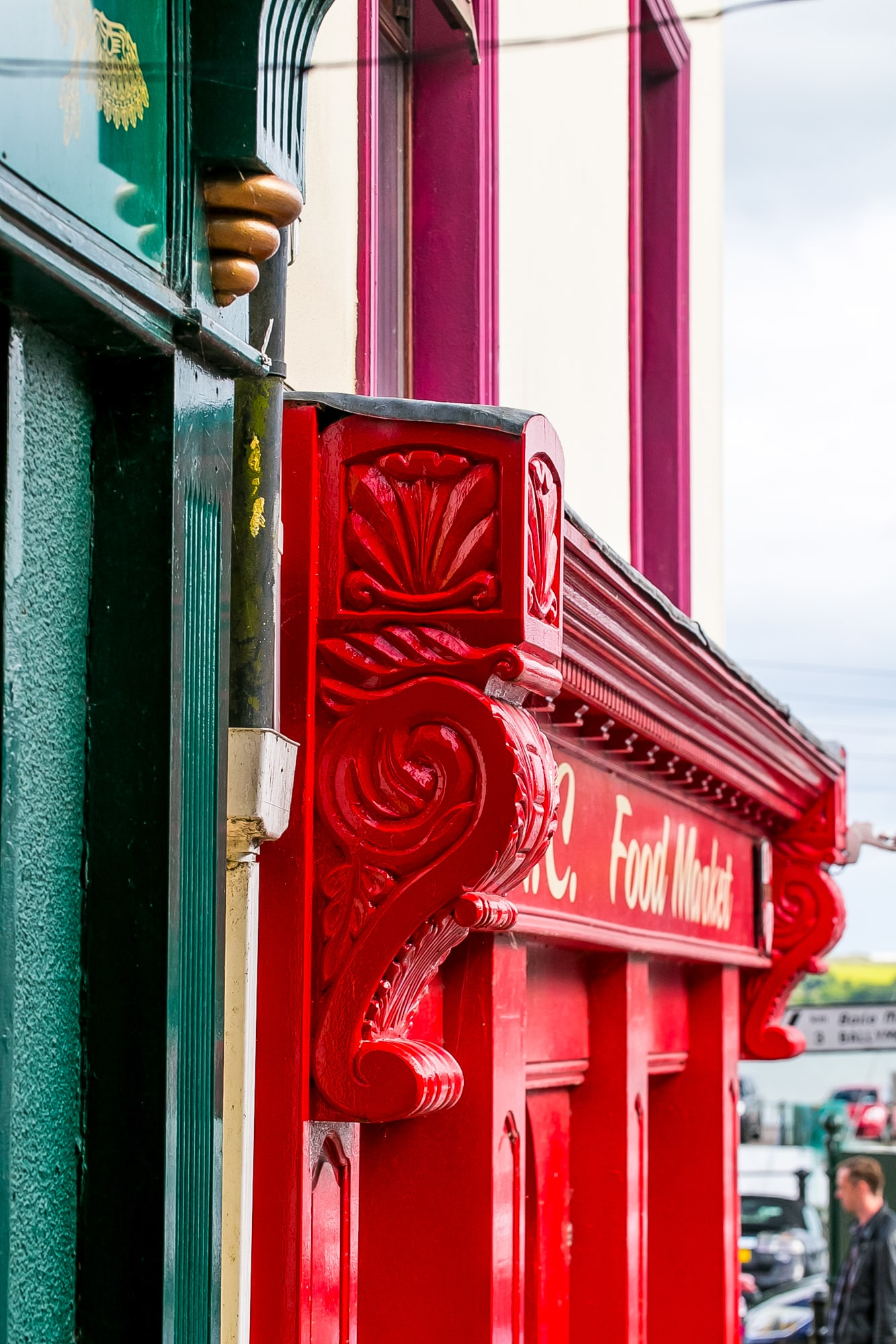 door details Cobh Ireland