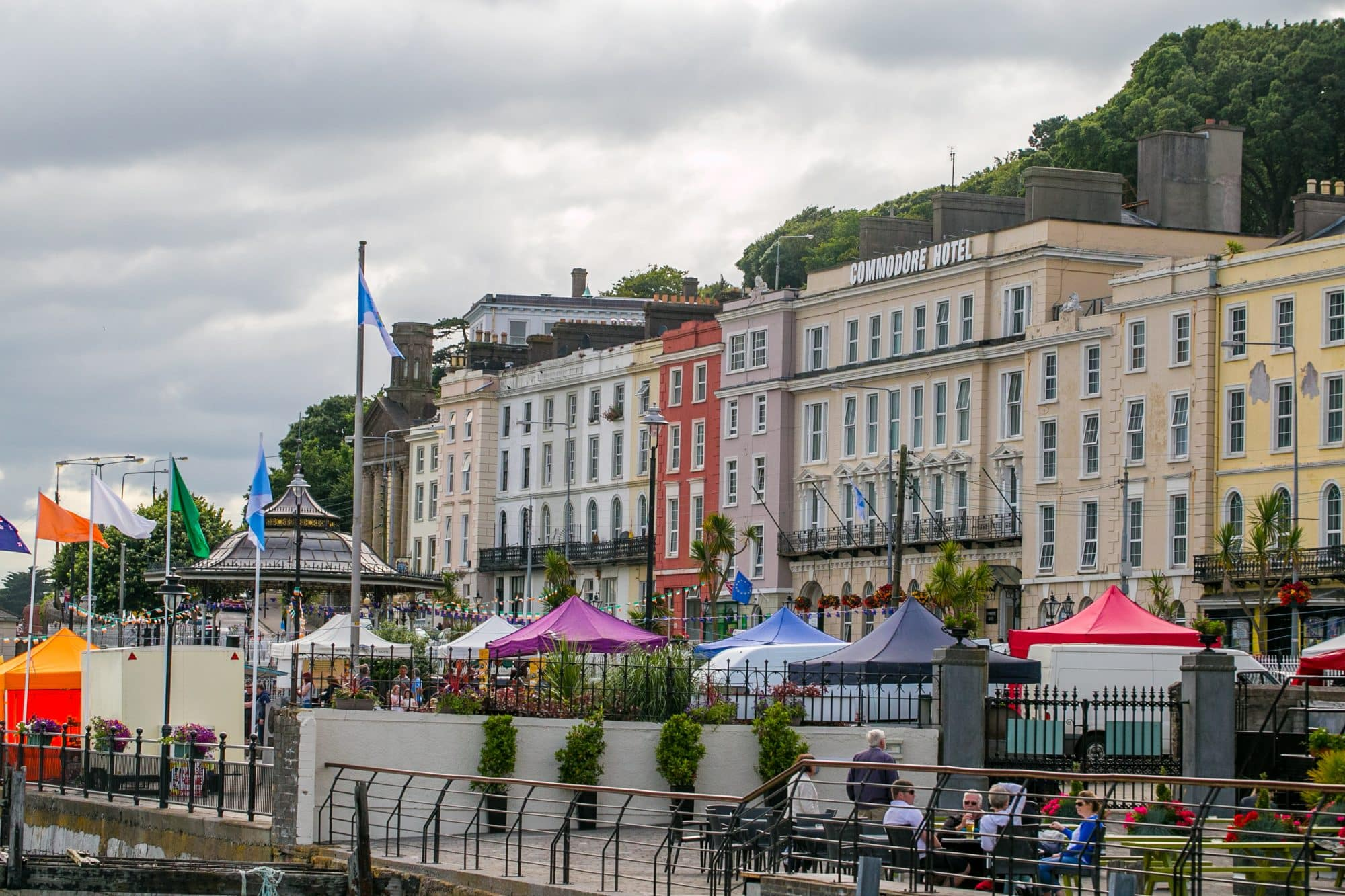 street fair, cobh ireland
