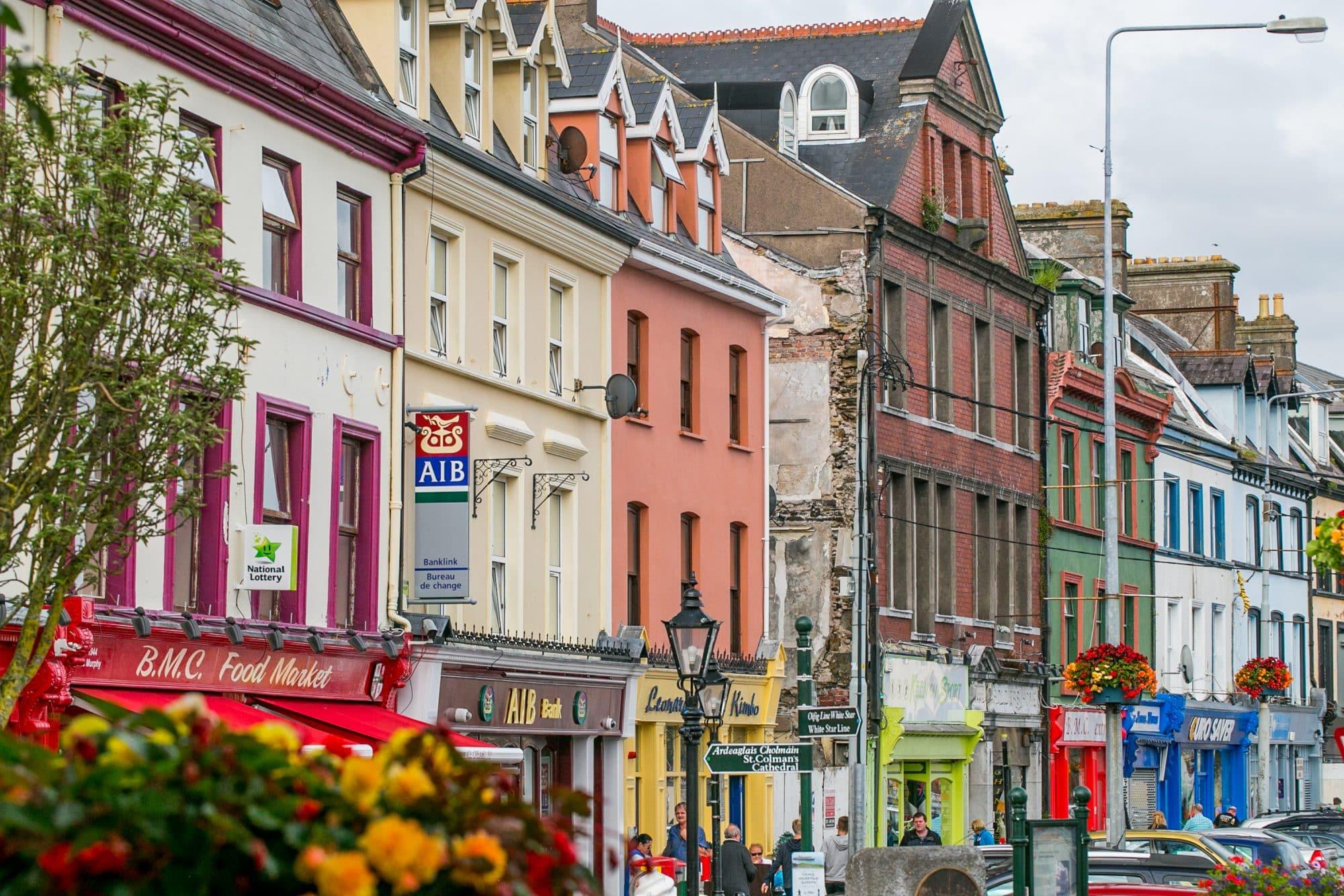 Cobh Ireland main street