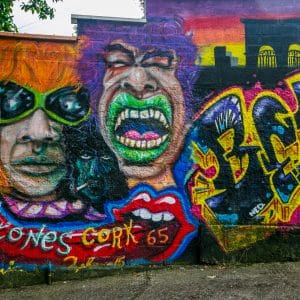 Rolling Stones, Street Art, Cork, Ireland
