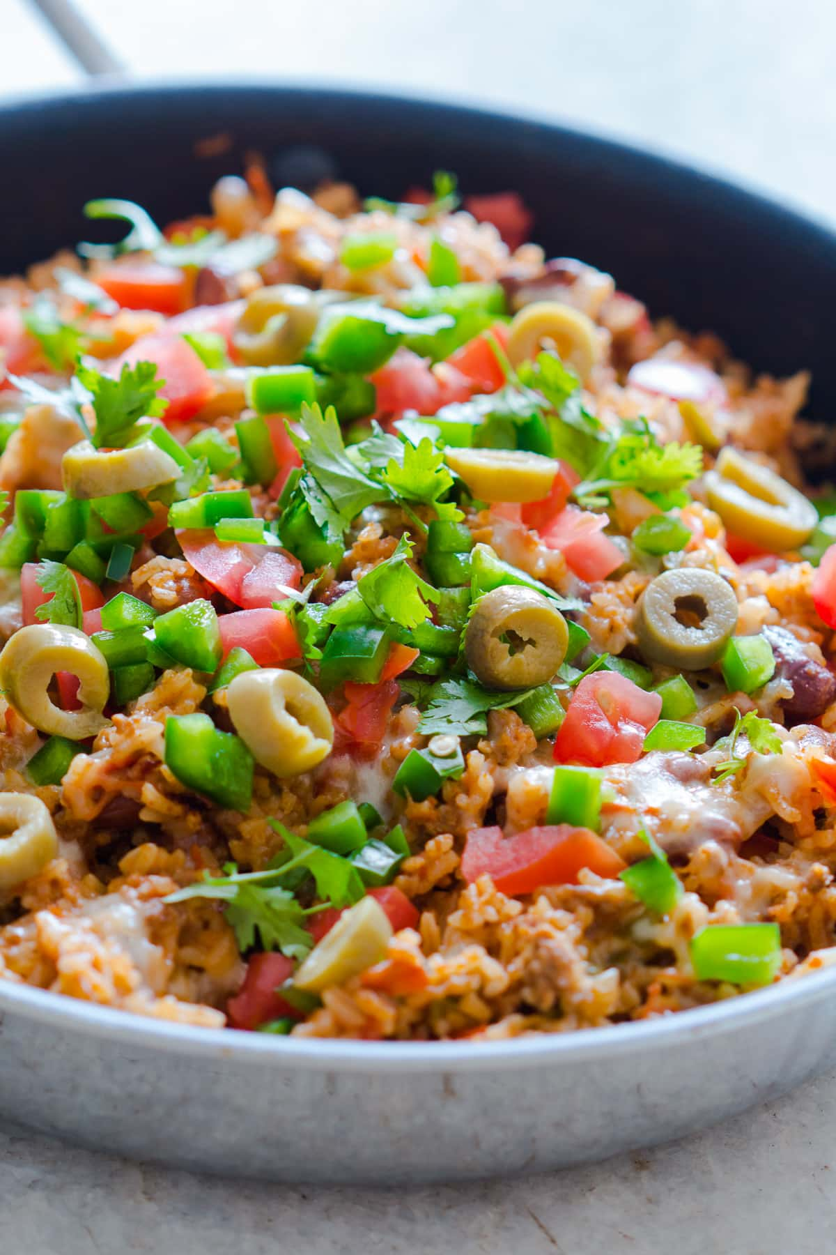 Mexican Beef and Rice Skillet - Sweet C's Designs