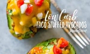 Low Carb Taco Stuffed Avocados