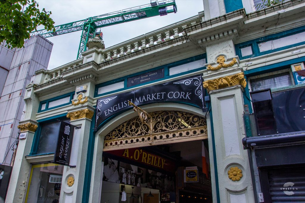 Cork's English Market - a must see spot in Ireland