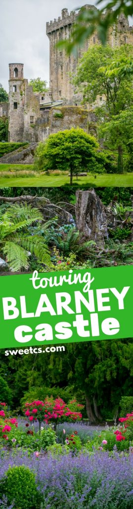 Touring Blarney Castle - such a perfect vacation idea with kids!