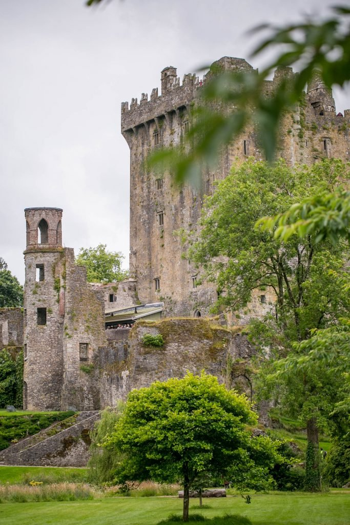 Tour the Blarney Castle in County Cork, Ireland - home of the Blarney Stone, Poison Gardens, rivers, and a ton of family fun!