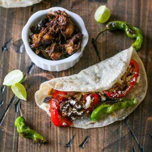 Tequila Habanero Country Rib Pork Tacos