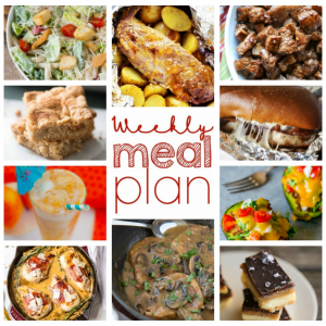 Easy Weekly Meal Plan #59