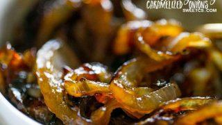 Honey Whiskey Caramelized Onions