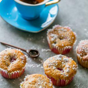 Cake Mix Fruit and Yogurt Muffins