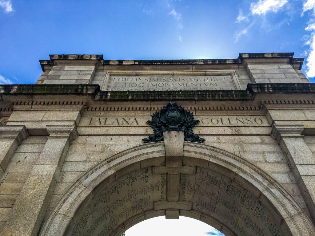 Arch, St Stephens GReen Dublin