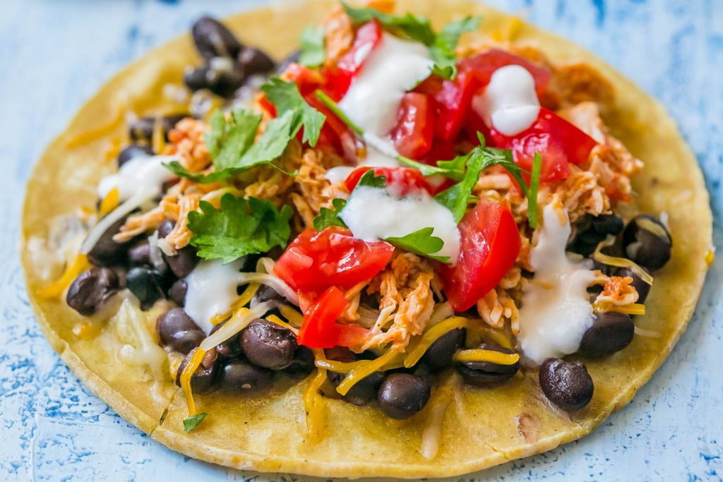 This is the best shredded chicken for tacos ever - my favorite recipe ever!
