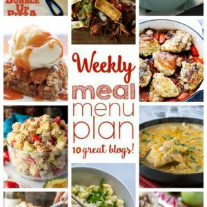 Easy Weekly Meal Plan Week 63