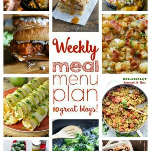 Weekly Meal Plan #62
