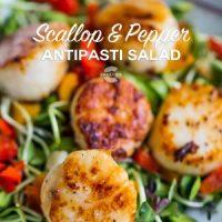Scallop & Pepper Antipasti Salad