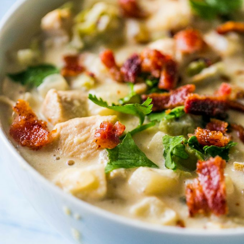 Chicken potato chowder