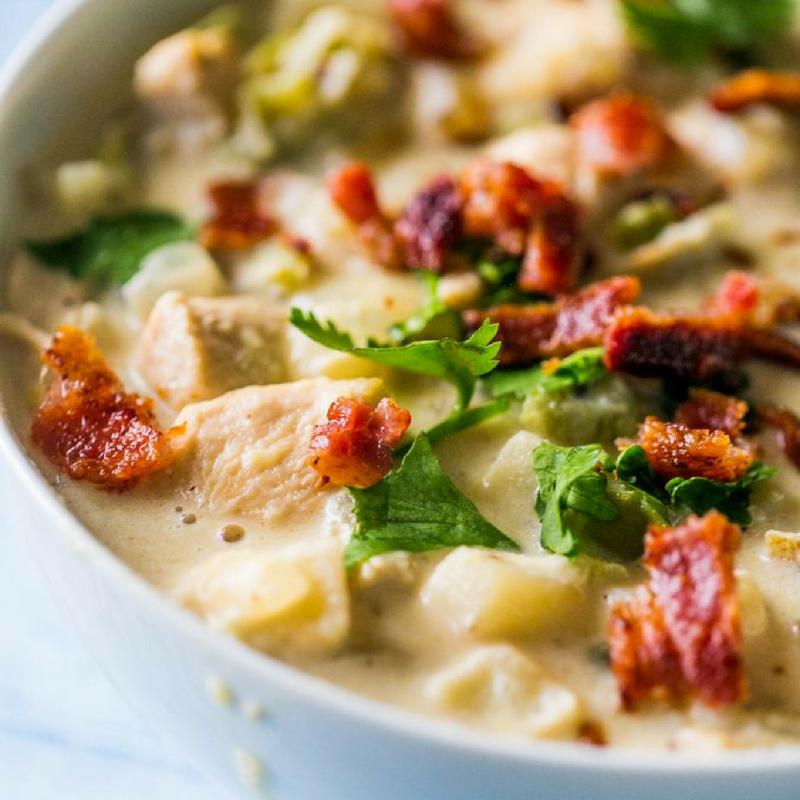 Chicken potato chowder