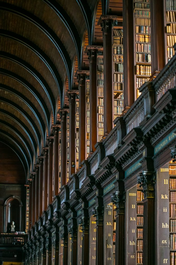 Trinity College Dublin Library Ireland Picture