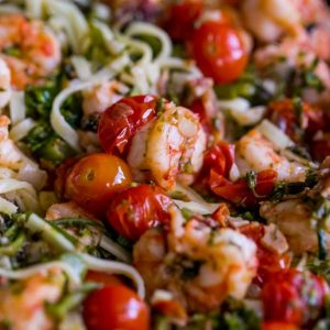 Tuscan Shrimp Linguine