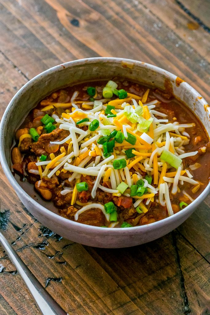Double beef chili - easy and full of flavor!