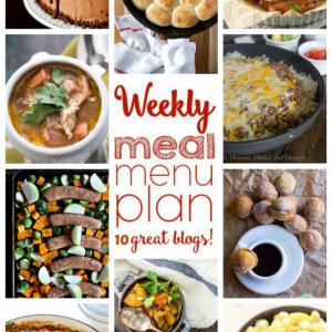 Easy Weekly Meal Plan Week #65