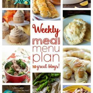 Weekly Meal Plan Week #64