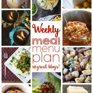 Easy Weekly Meal Plan Week #67