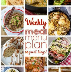 Easy Weekly Meal Plan Week #66