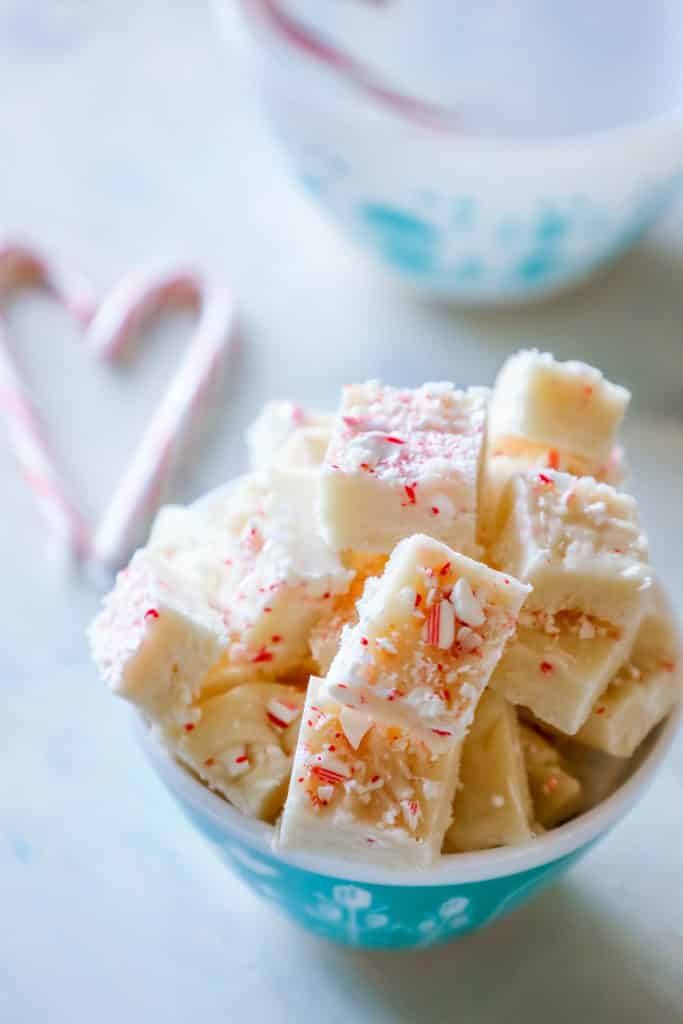 cake batter candy cane fudge this is the best gift