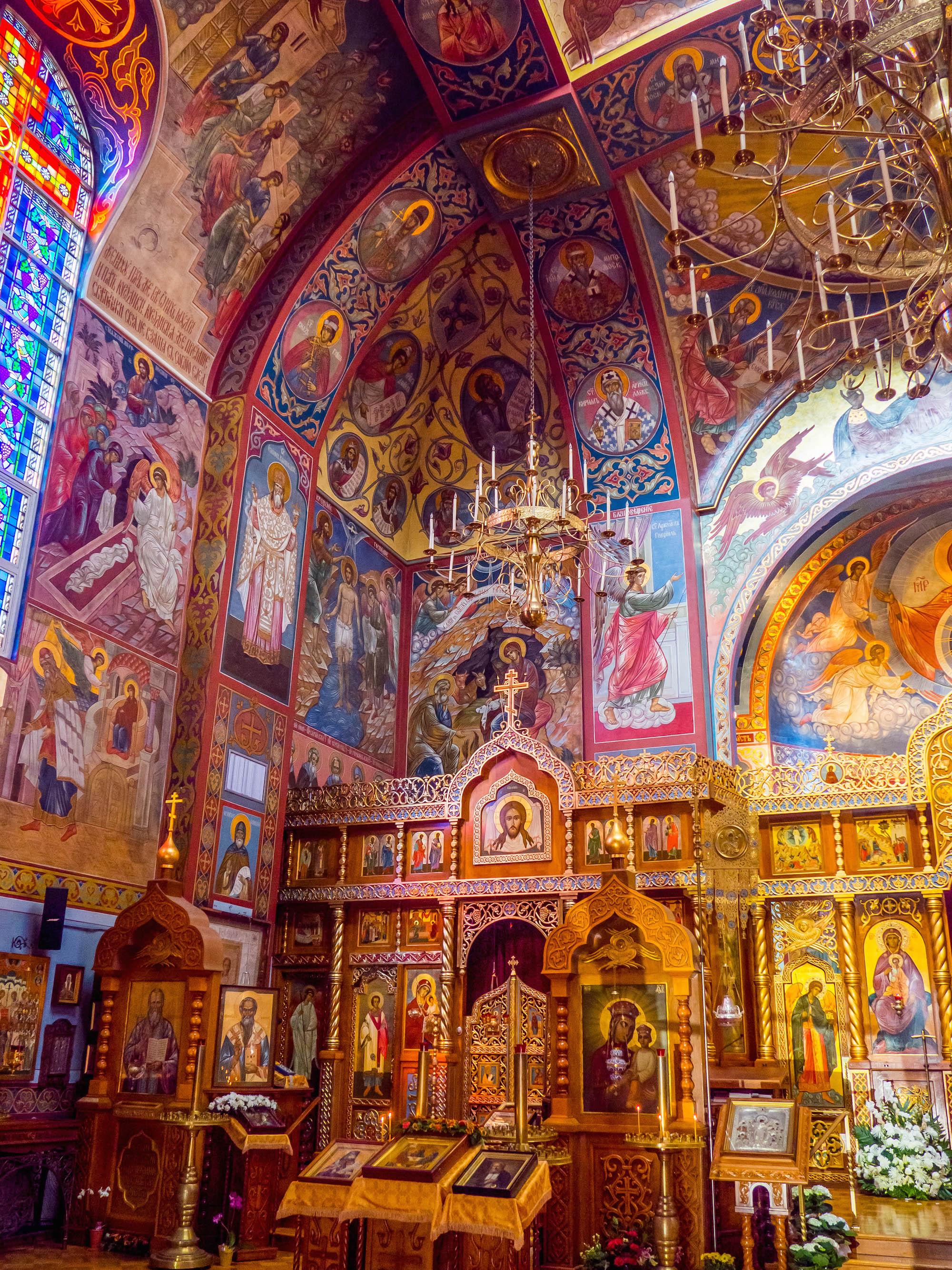 Holy Virgin Cathedral, San Fransisco