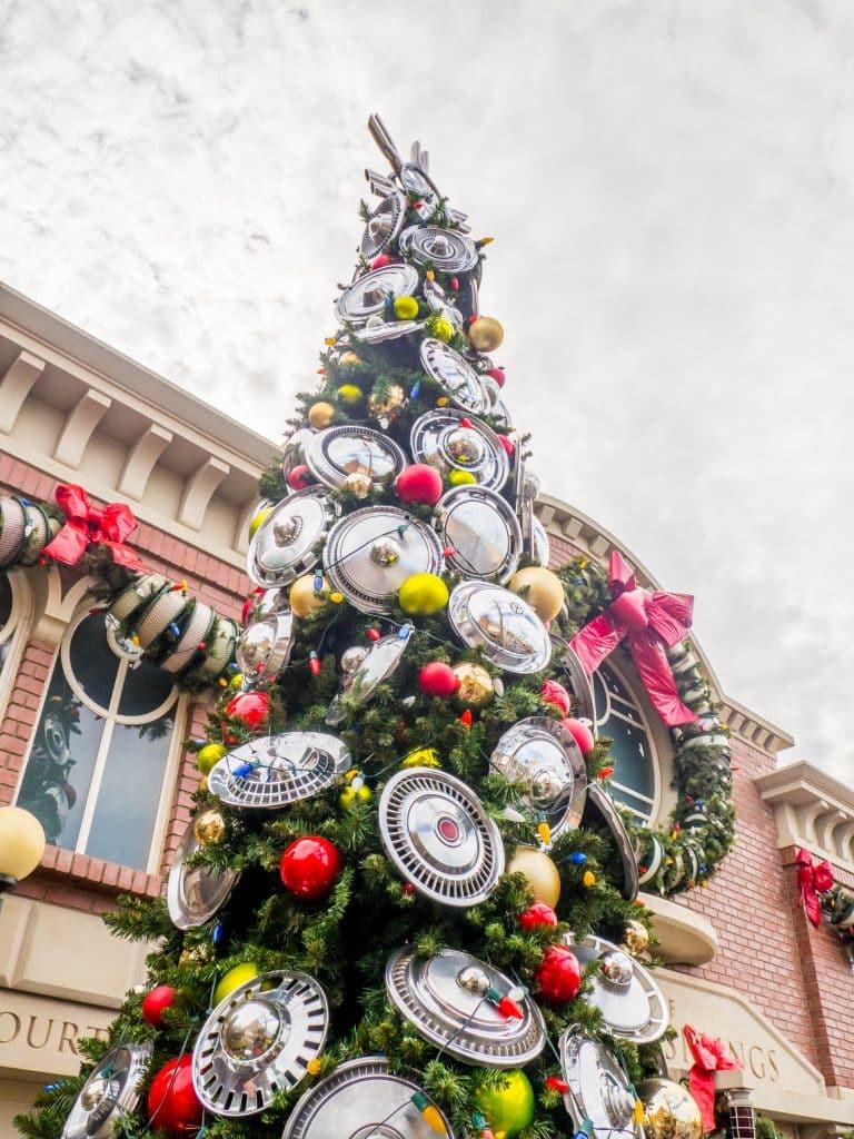 Radiator Springs at Christmas, Disneyland