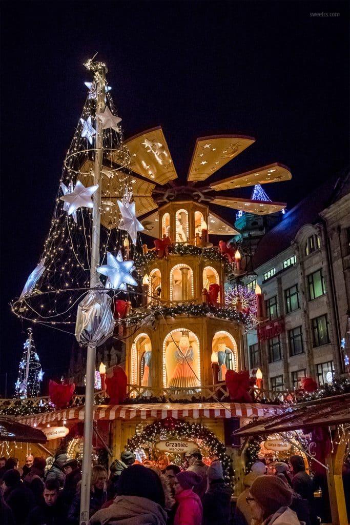 Polish Pottery Christmas Tree