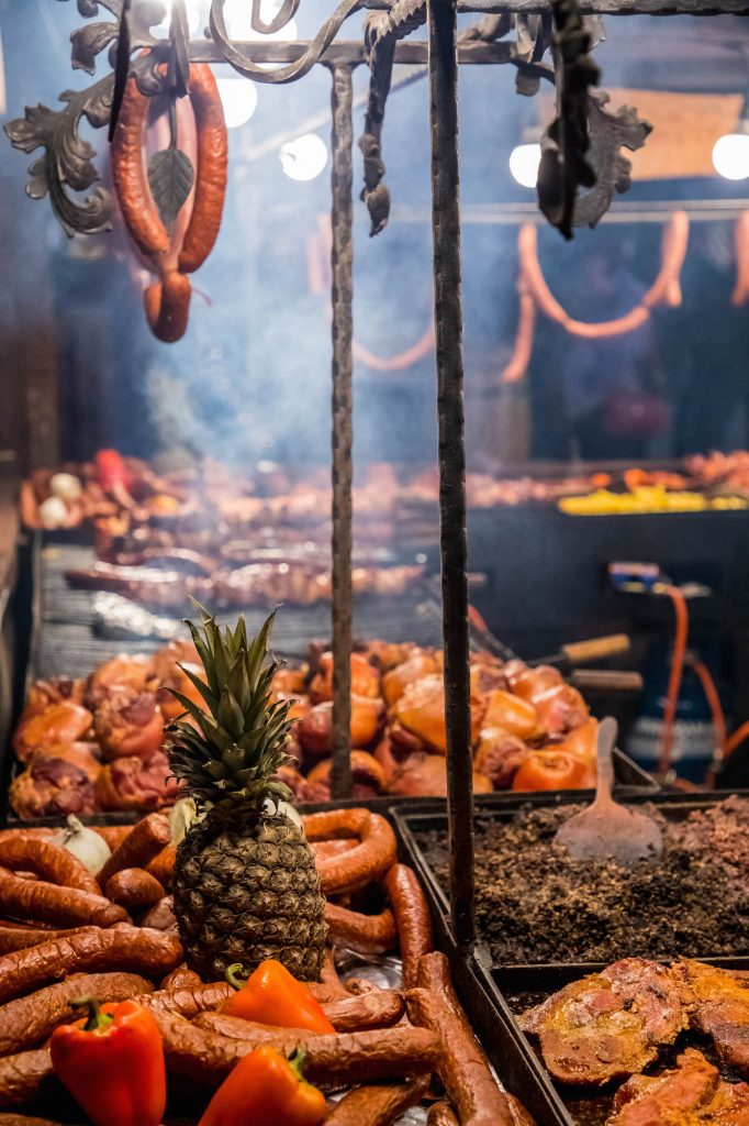 grilled-meats-at-krakow-christmas-market