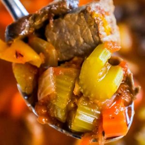Instant Pot Skinny Steak Soup – Just 3 Points!